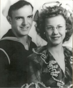Donn and Jeanne Claybaugh - 1943